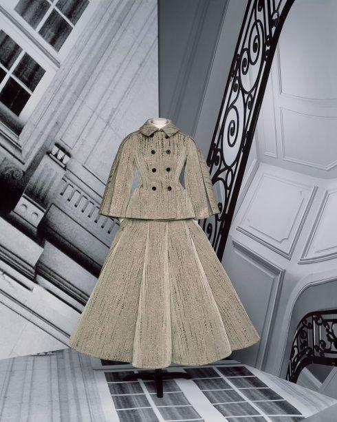 <br/>bst dior haute couture thu đông 2021 look 3