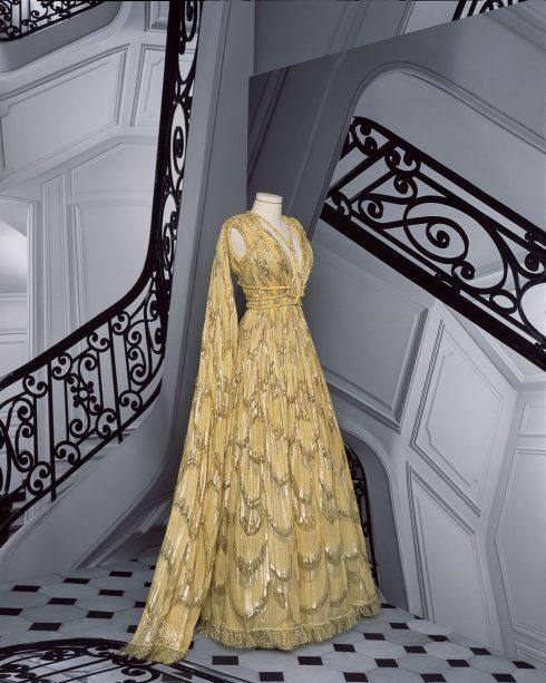 <br/>bst dior haute couture thu đông 2021 look 32