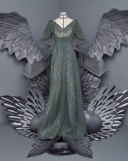 <br/>bst dior haute couture thu đông 2021 look 33