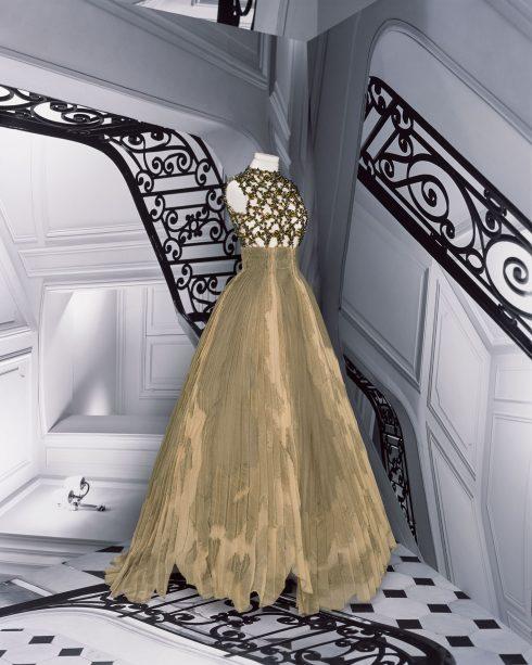 <br/>bst dior haute couture thu đông 2021 look 34