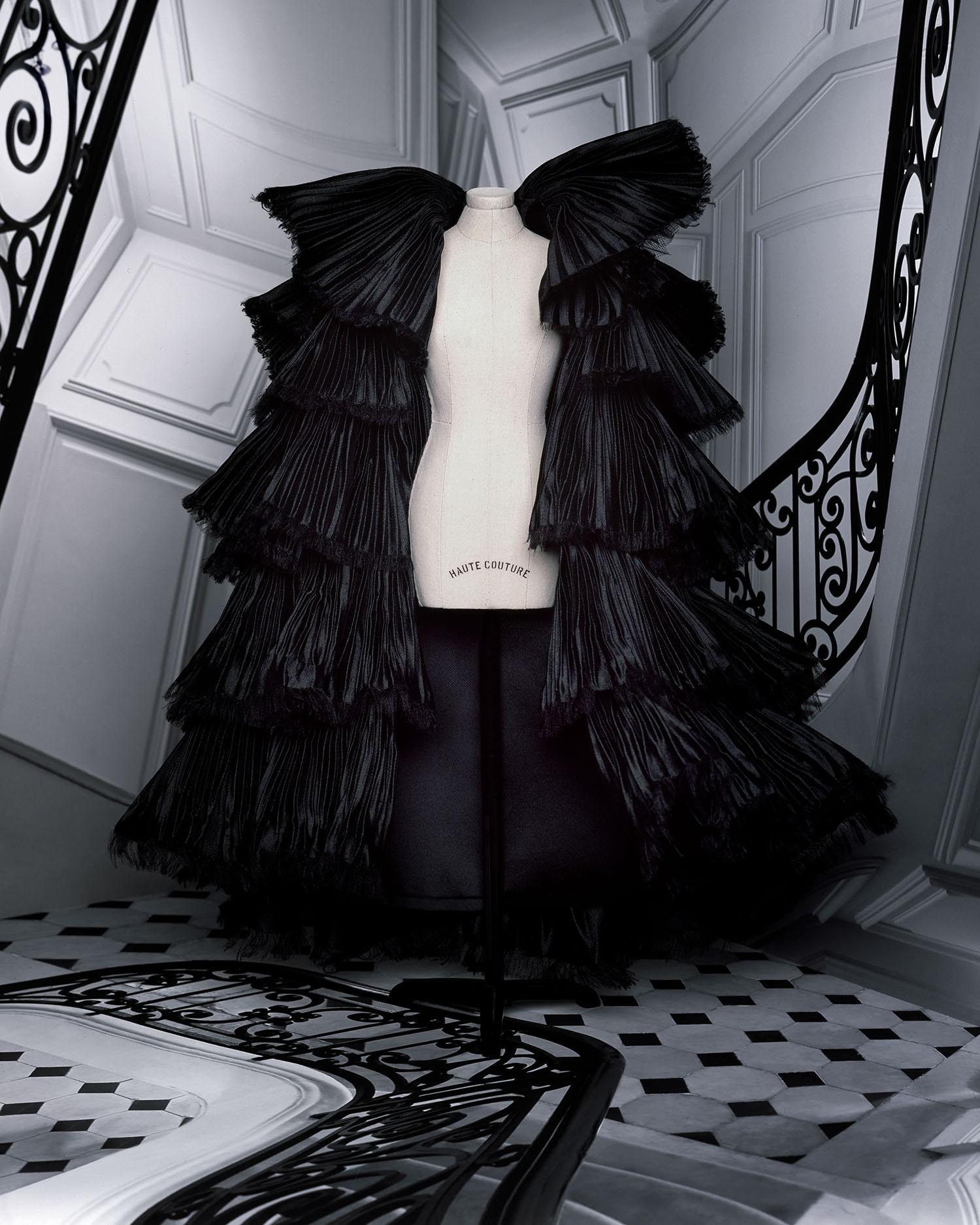 bst dior haute couture thu đông 2021 look 37
