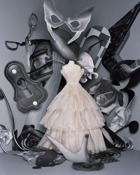 <br/>bst dior haute couture thu đông 2021 look 6