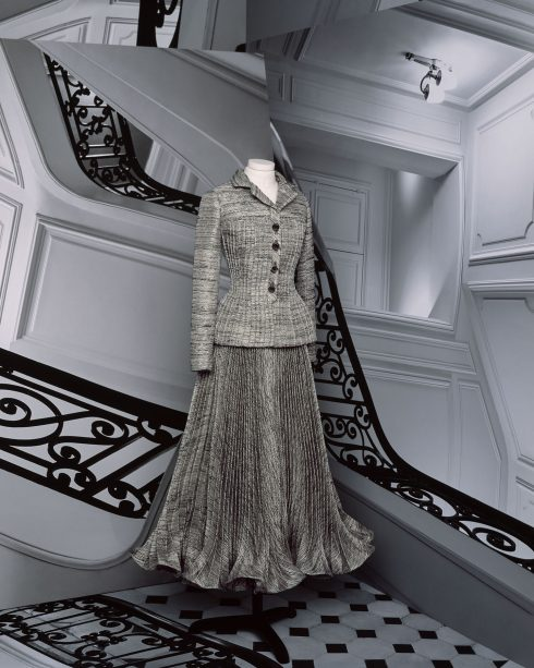 <br/>bst dior haute couture thu đông 2021 look 8