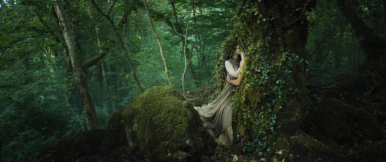 phim ngắn dior haute couture thu đông 2021 cảnh tiên nữ trong rừng