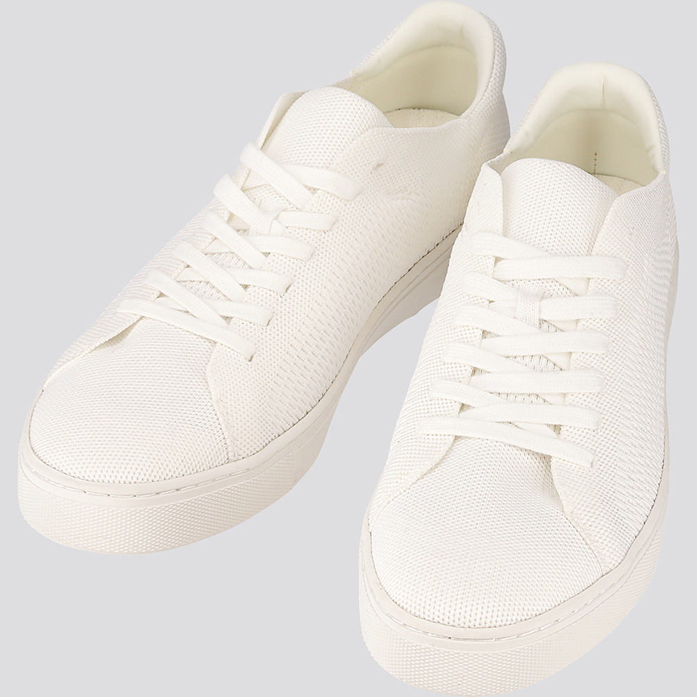 giày thể thao sneakers uniqlo màu trắng all white