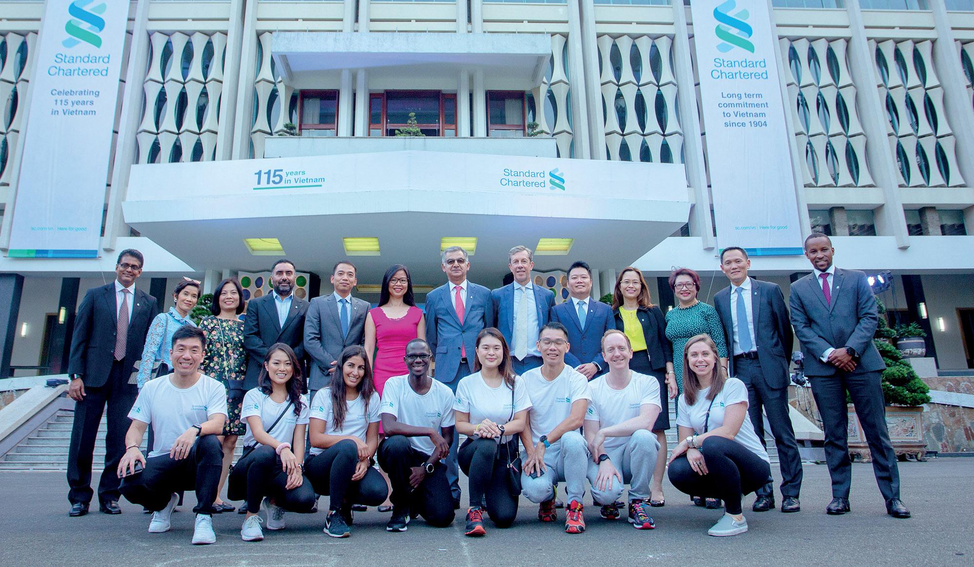 Standard Chartered lời cam kết bền vững