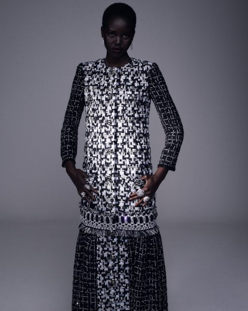 <br/>bst chanel haute couture thu đông 2020 look 14