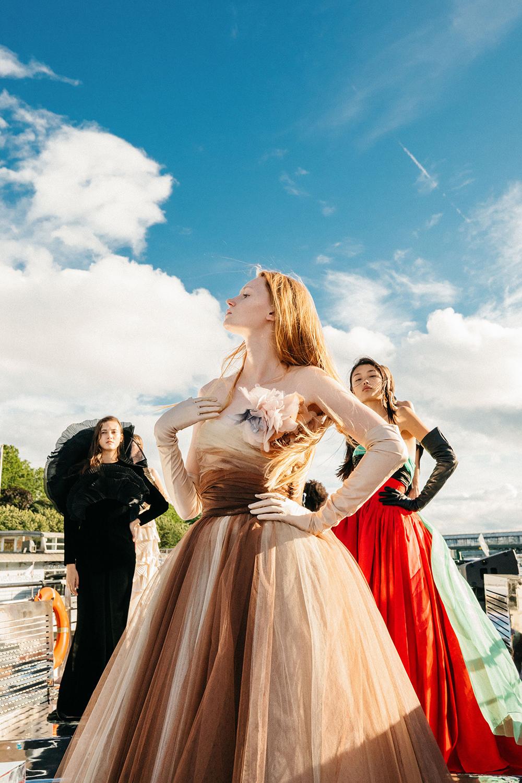 bst balmain haute couture thu - đông 2020 look 8