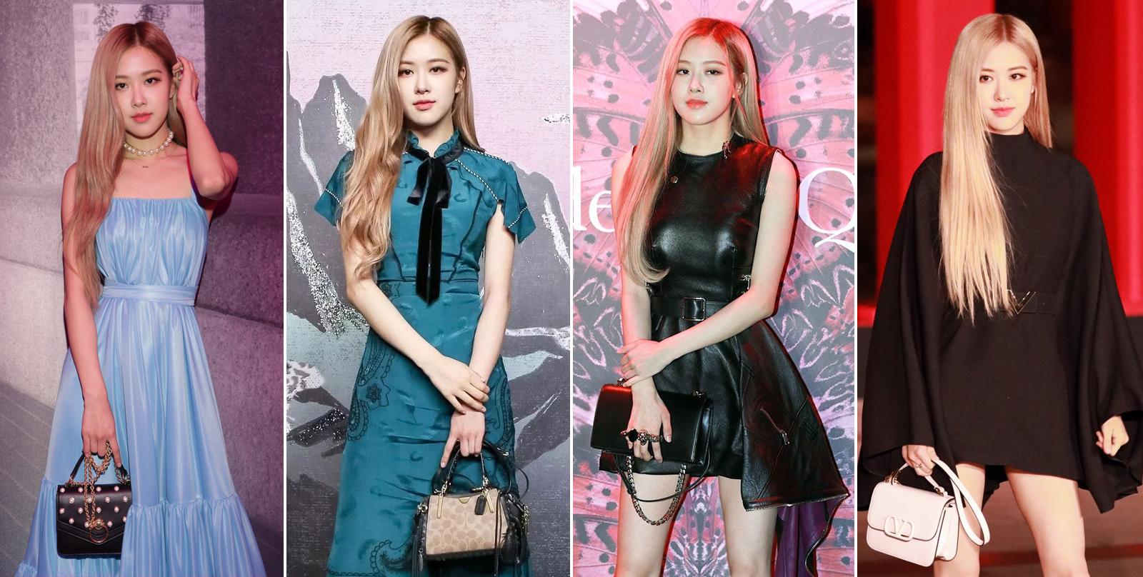 Rosé tại các sự kiện thời trang