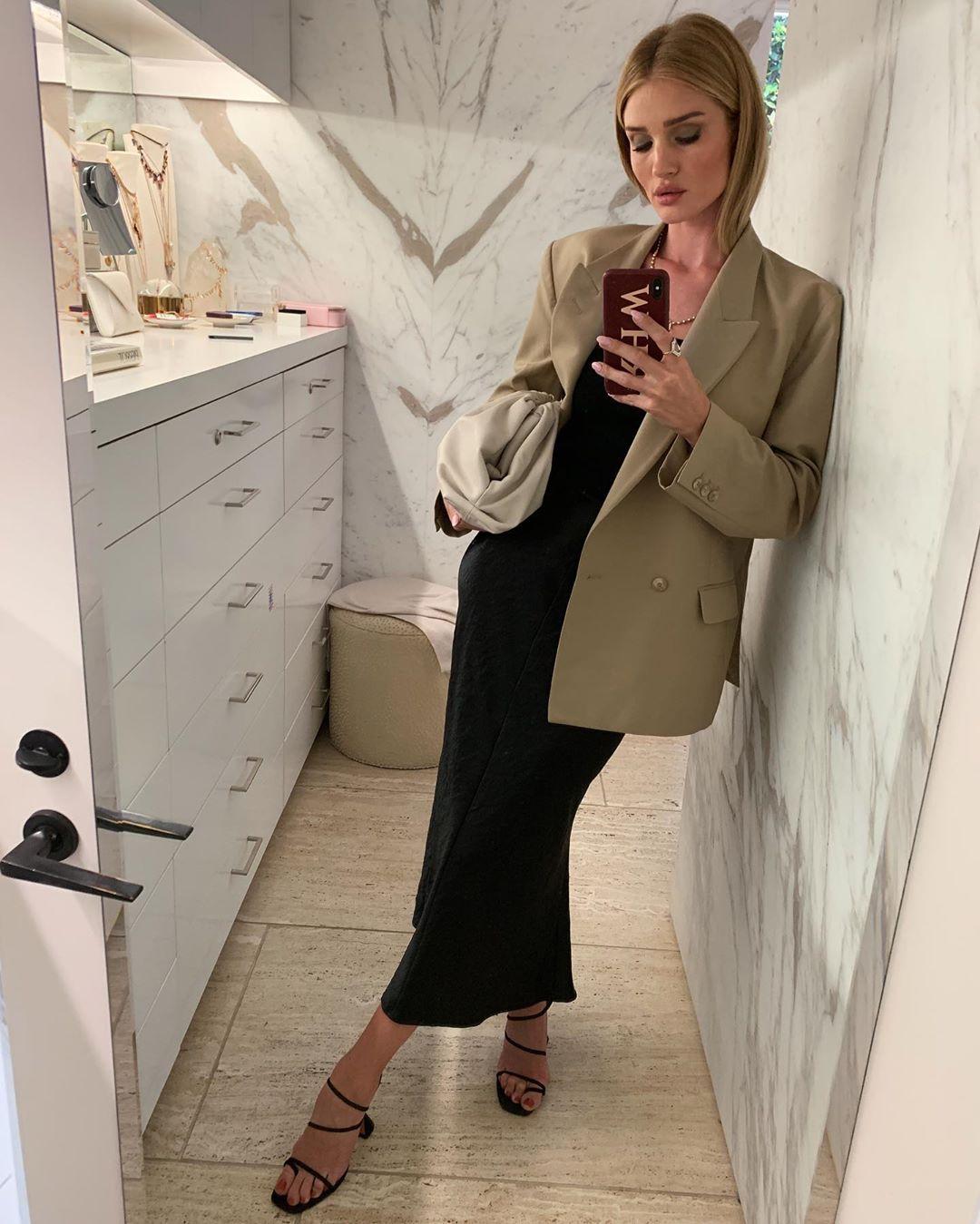 rosie hw mang giay sandal nữ mũi vuông thời trang công sở mùa hè