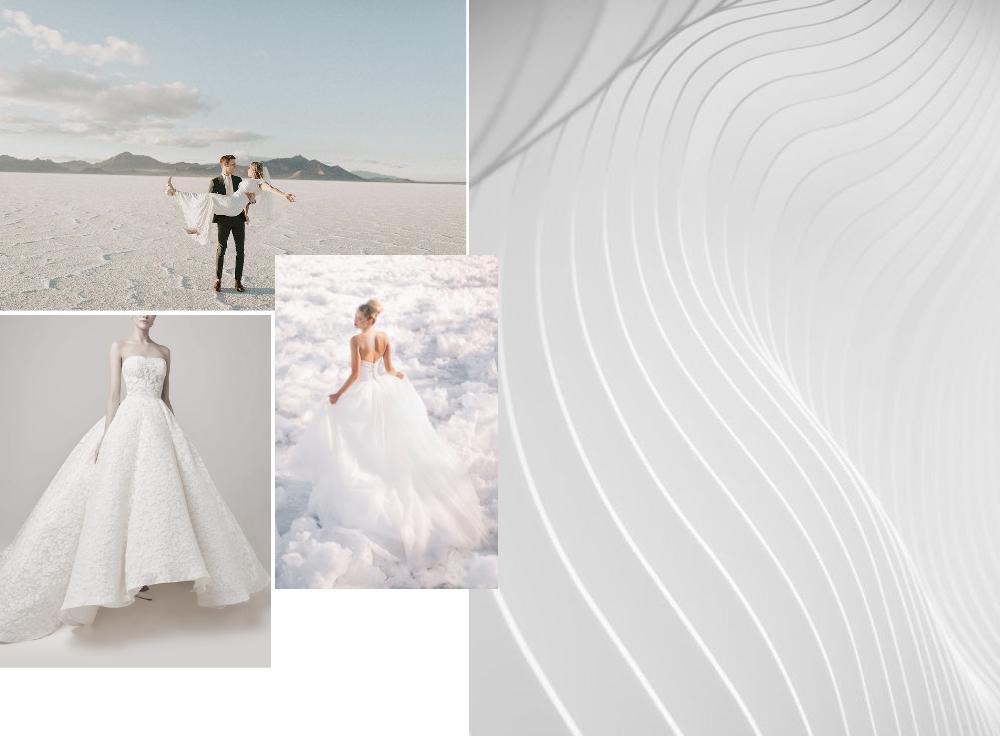 chủ đề mây ELLE Wedding Art Gallery
