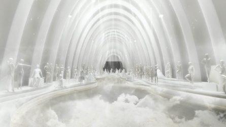 Dạo bước trên mây tại ELLE Wedding Art Gallery 2020