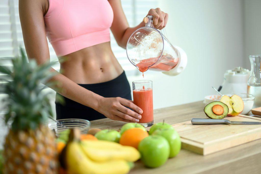 thức uống giảm mỡ bụng