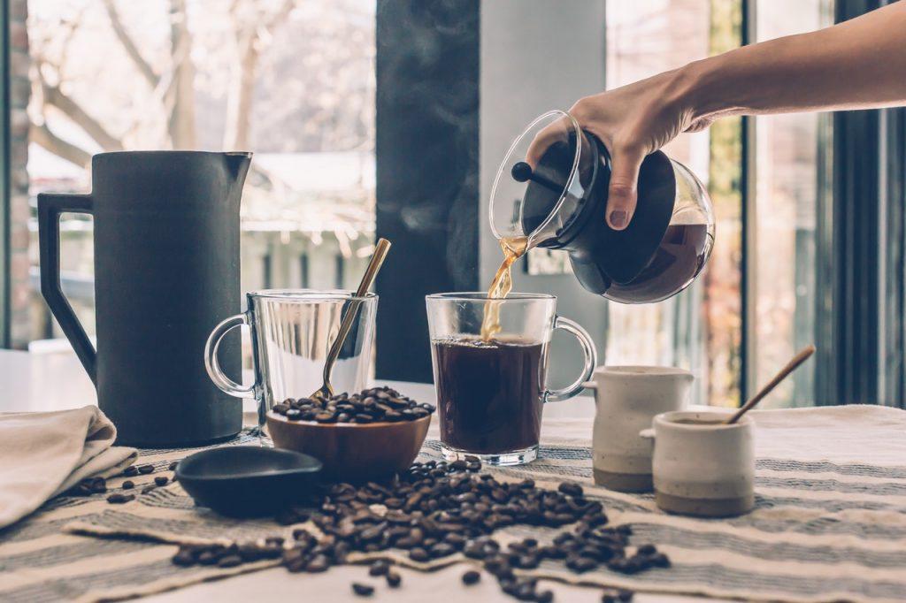 làm đẹp - bã cà phê