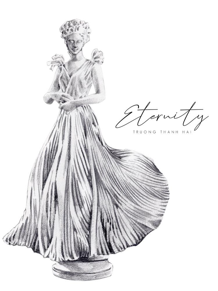 sketch bst thời trang cưới trương thanh hải elle wedding art gallery 1