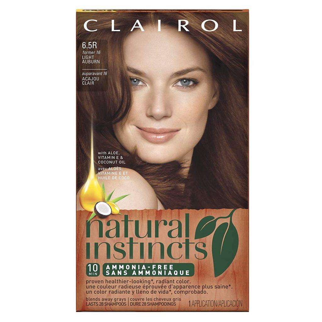 làm đẹp từ thuốc nhuộm Clairol Natural Instincts