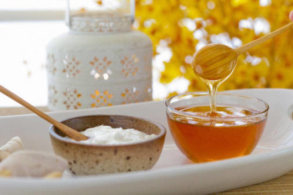 sữa chua mật ong chống lão hóa