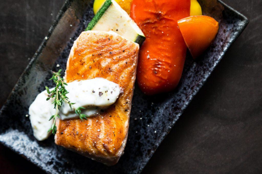 giảm cân - cá hồi