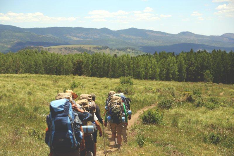 trải nghiệm trekking