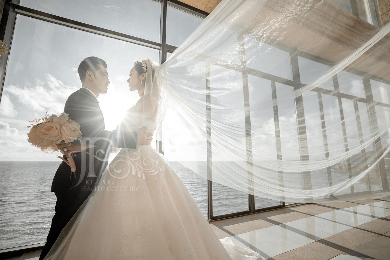 một thiết kế váy cưới của ntk phạm đặng anh thư thương hiệu joli poli