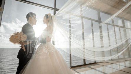 NTK Phạm Đăng Anh Thư và các thiết kế cưới lãng mạn như mây tại ELLE Wedding Art Gallery 2020