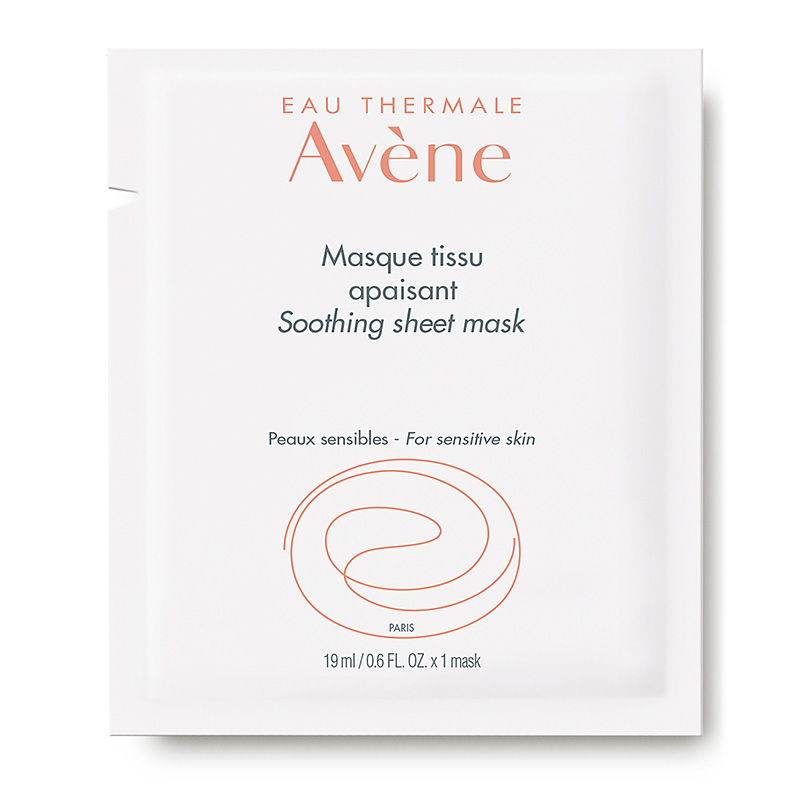Mặt nạ Eau Thermale Avène Soothing Sheet Masque