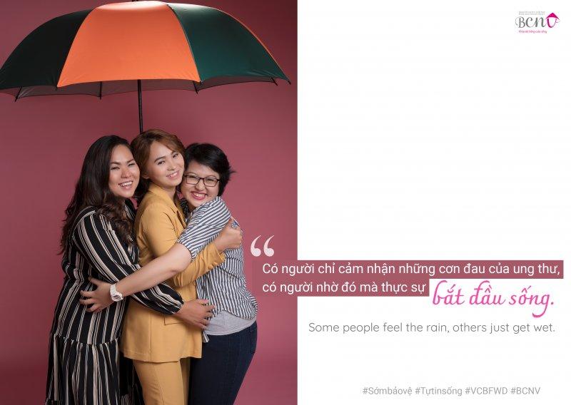 bộ ảnh truyền thông cho bệnh nhân ung thư