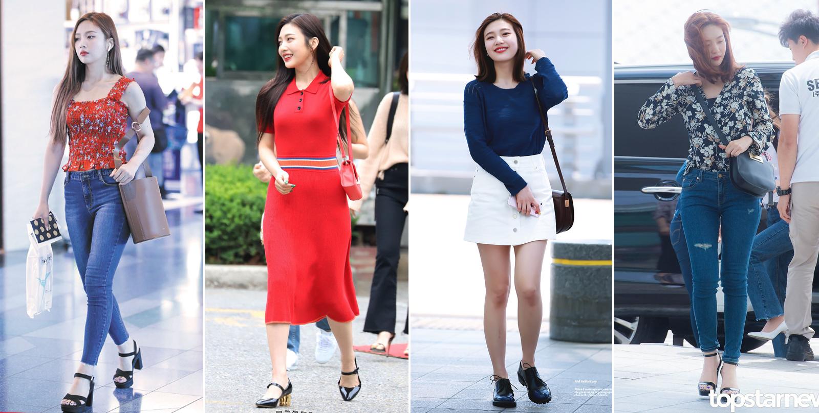 Thời trang của Joy (Red Velvet) khi mới ra mắt