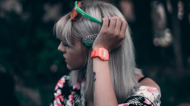 tóc bạc - quay