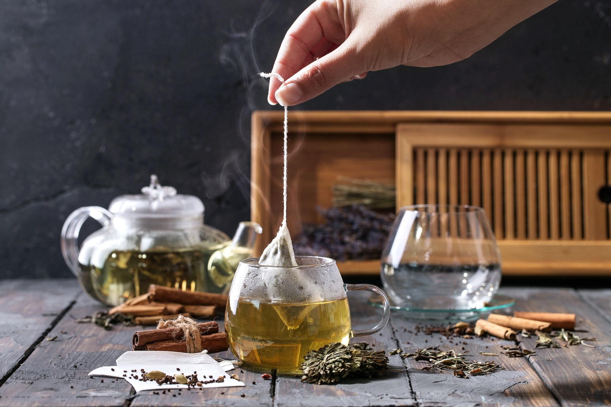 trà giảm nếp nhăn