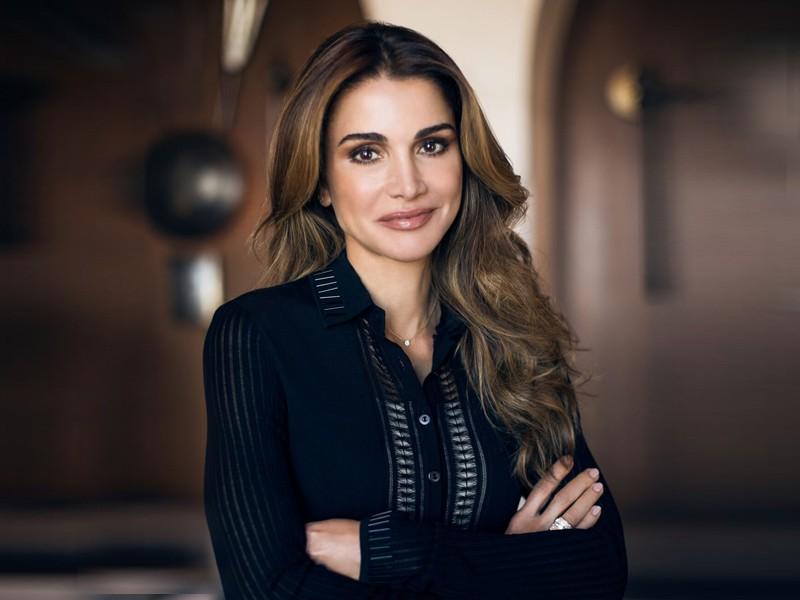 bí quyết làm đẹp của hoàng hậu Rania