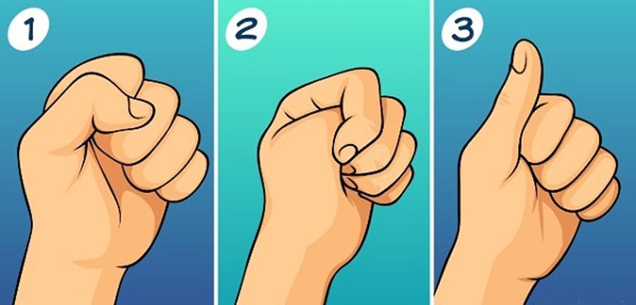 cách bạn nắm tay trắc nghiệm