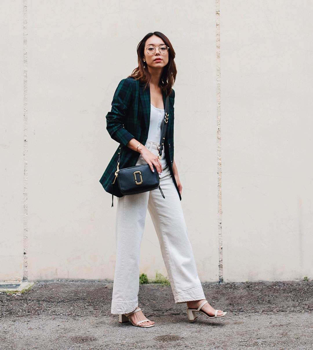 Dress code semi formal - blazer kẻ ô