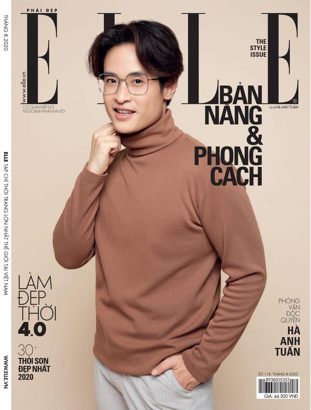 Tạp chí Phái đẹp ELLE Hà Anh Tuấn