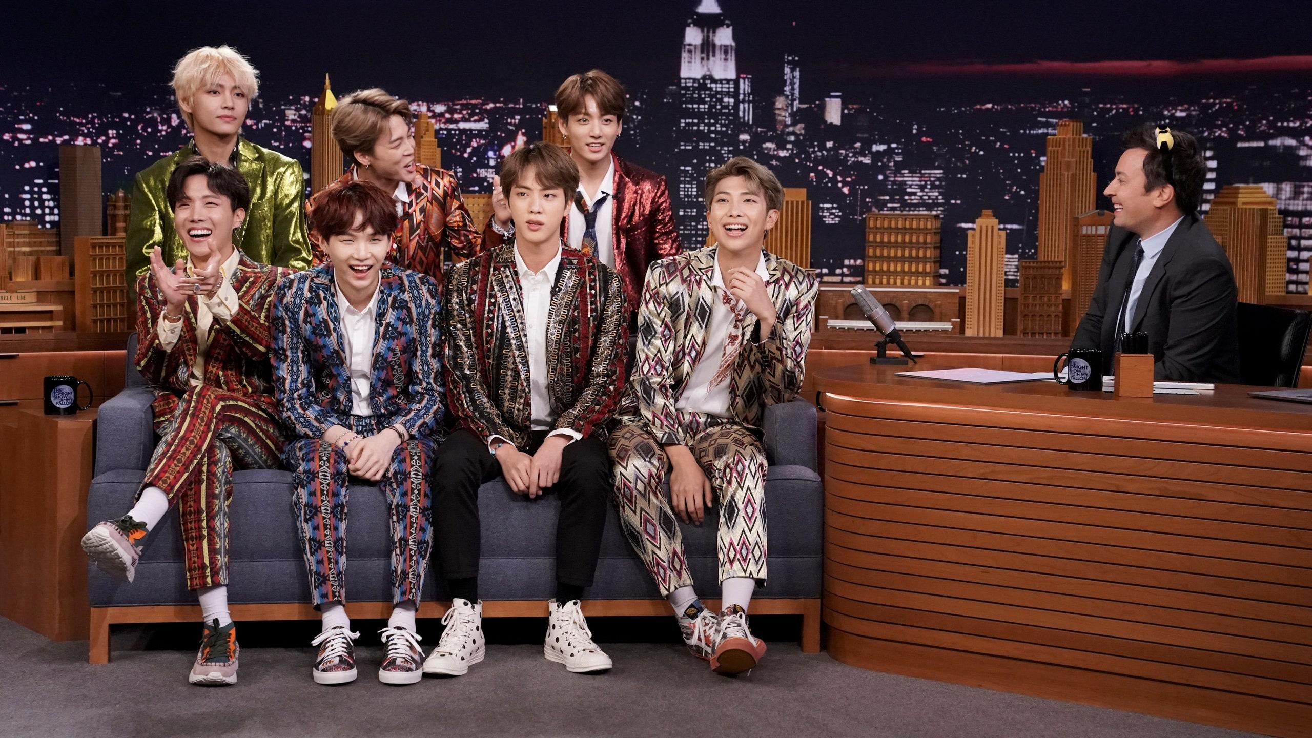 âm nhạc BTS xuất hiện trong show The Tonight Show Starring Jimmy Fallon