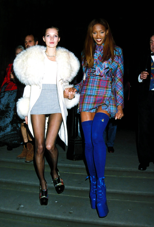 Câu nói hay - Kate Moss và Naomi Campbell thập niên 90