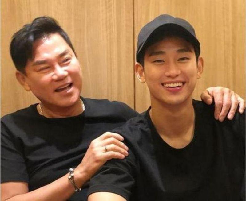 Kim Soo Hyun và bố