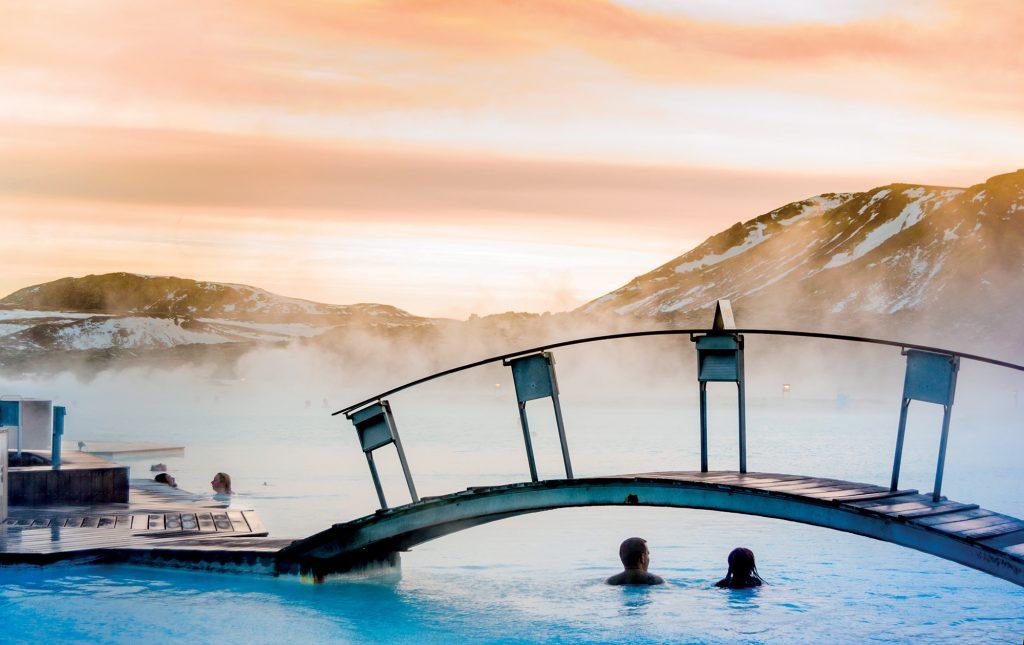 địa điểm suối nước nóng Iceland