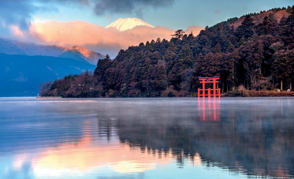 địa điểm tắm rừng Nhật Bản