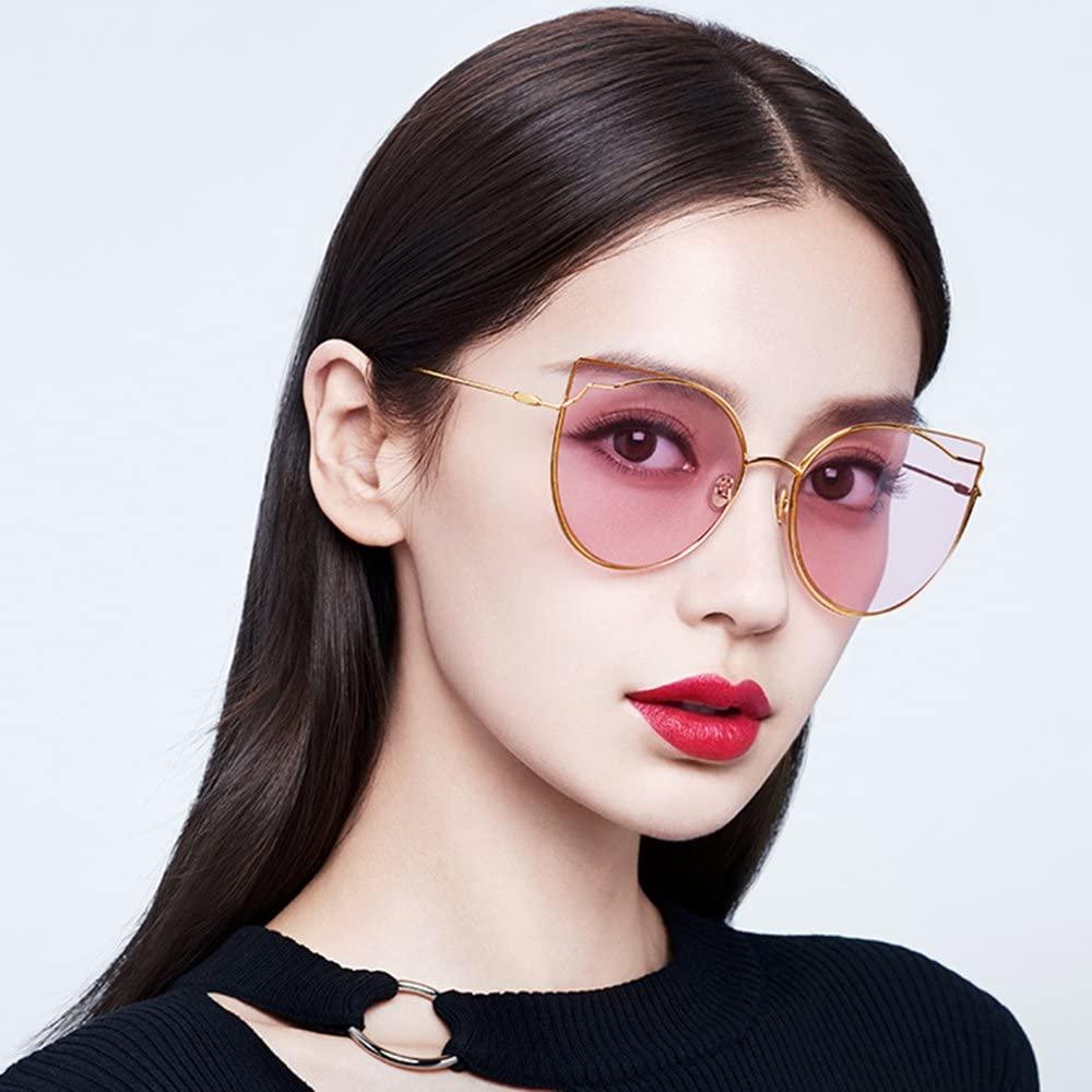 Angelababy đeo mắt kính Molsion to bản