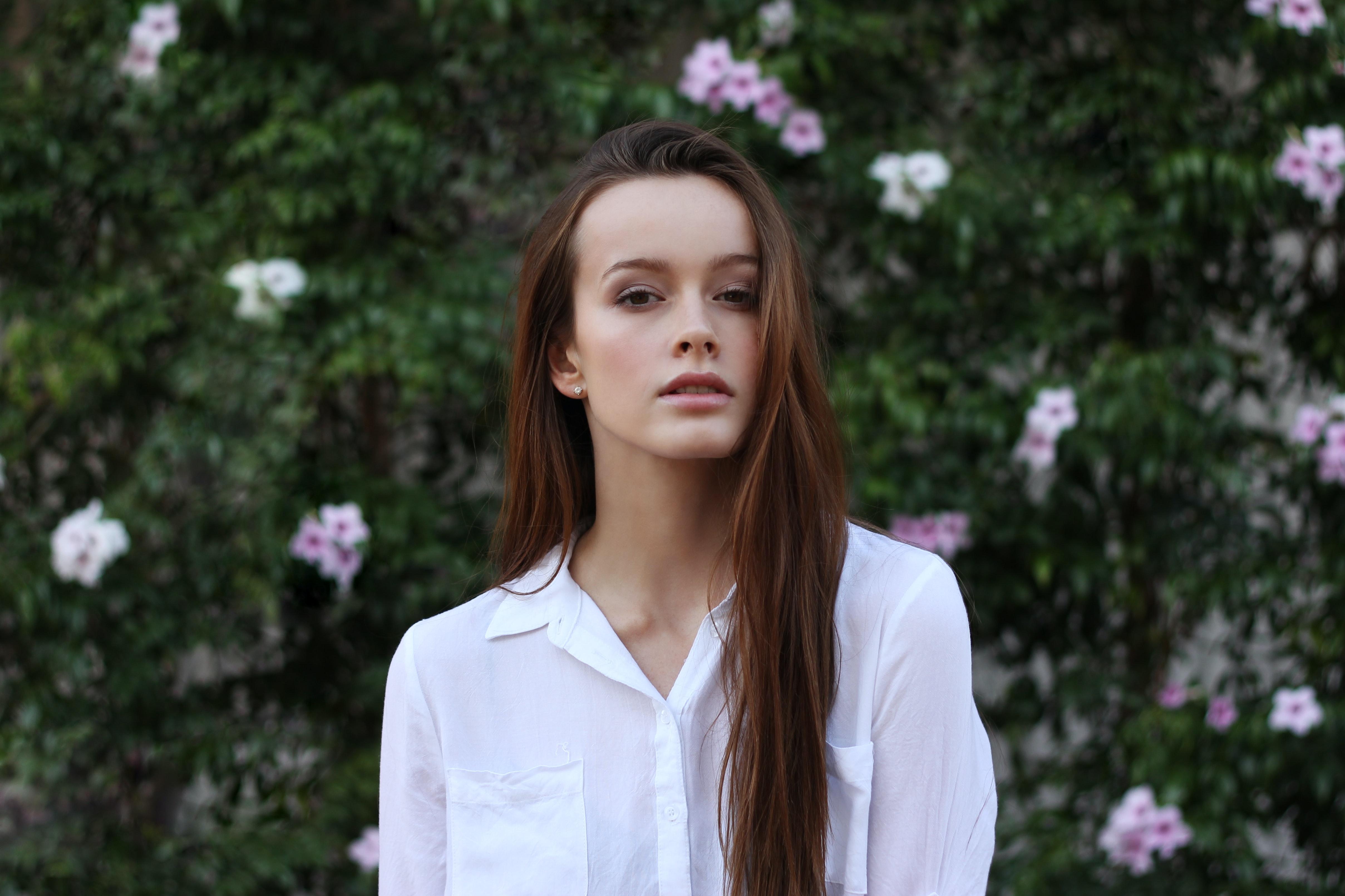 mushin trạng thái vô tâm trí cô gái áo trắng