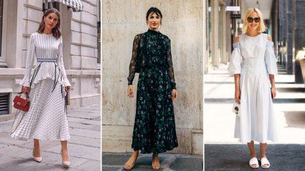 6 kiểu váy xòe bay bổng và lãng mạn cho cô nàng công sở