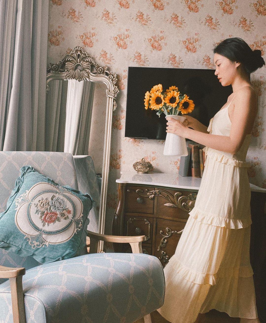 Lê Hà Trúc phong cách thời trang cottagecore