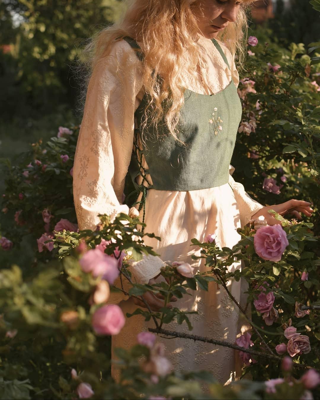 liskin_dol phong cách thời trang cottagecore