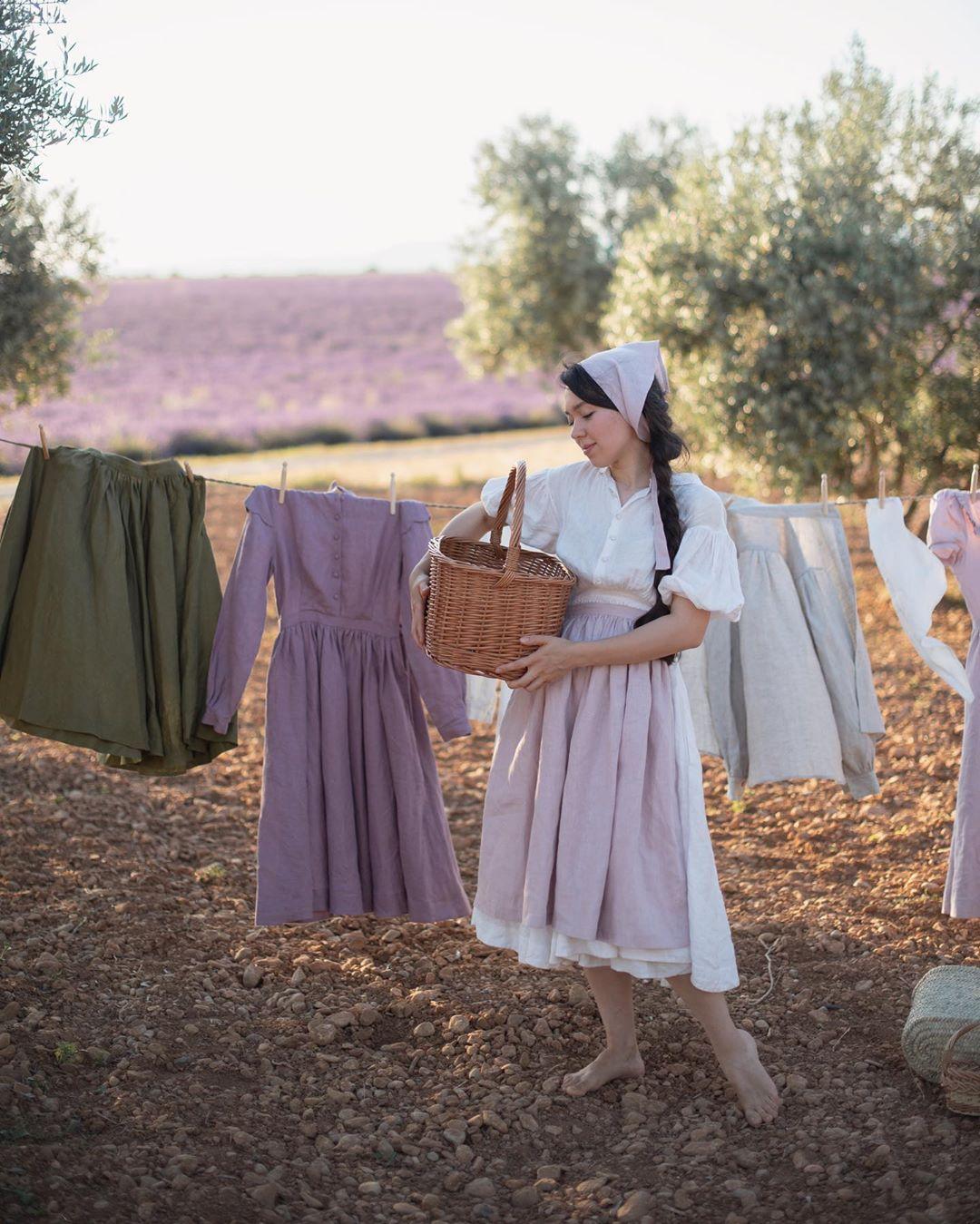 littlewomenatelier phong cách thời trang cottagecore