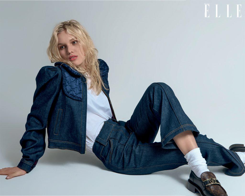 phong cách thời trang menswear trang phục blazer xanh dương Fendi