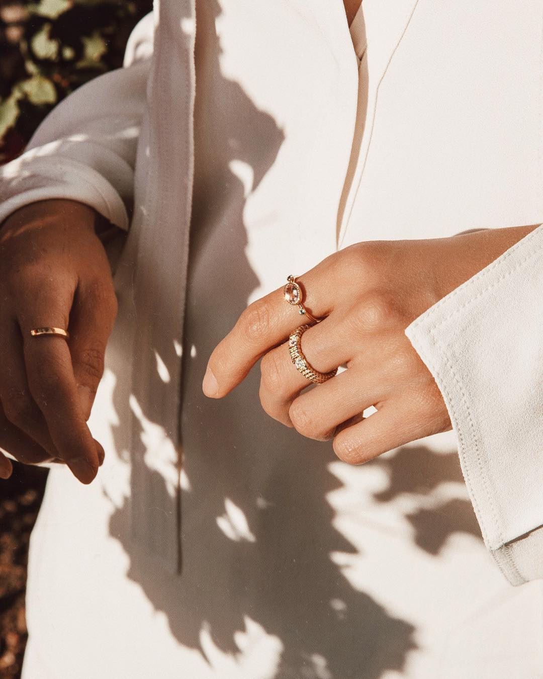 Nhẫn nữ đẹp theo bộ