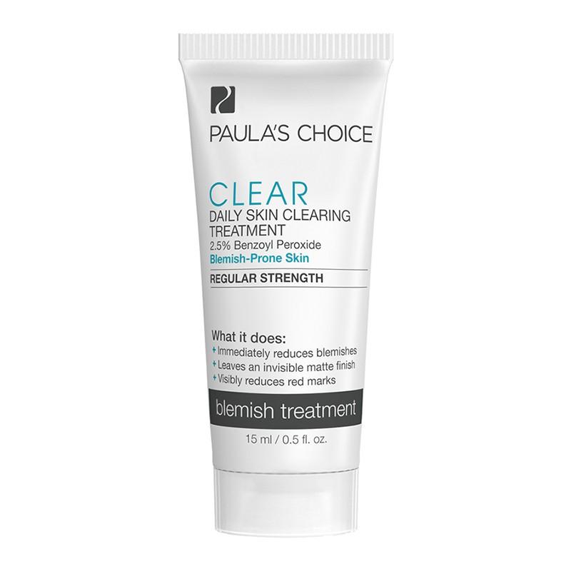 Kem trị mụn Paula's Choice Clear Regular Strength Daily Skin Cle.