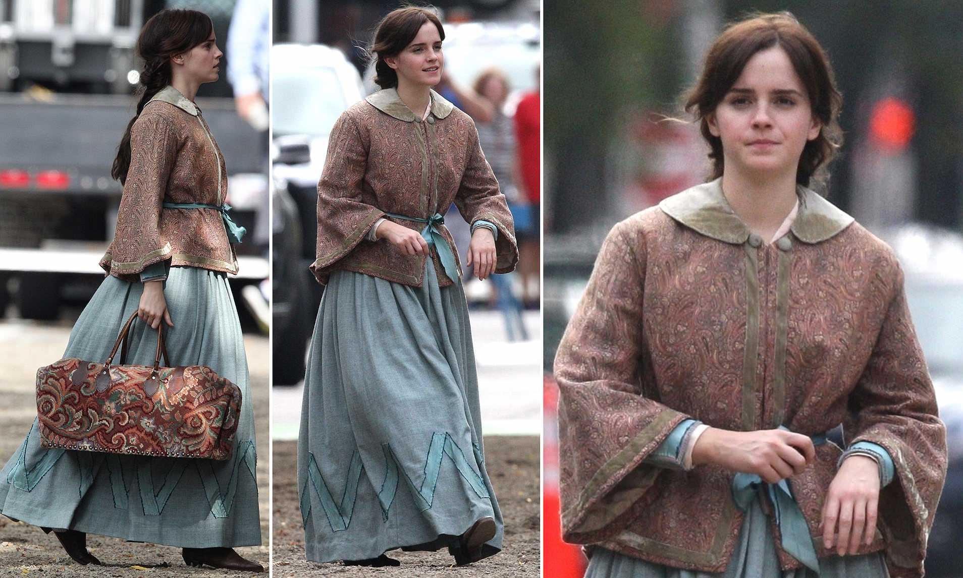Meg phong cách thời trang cottagecore little women