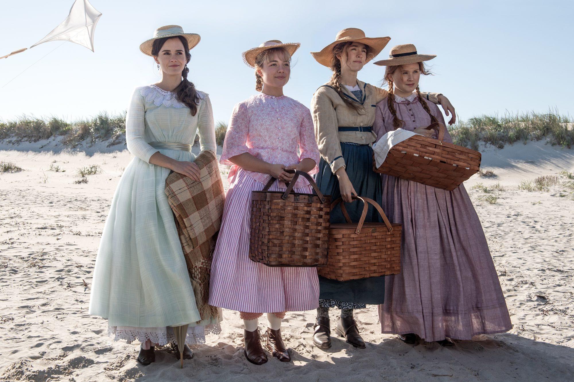4 chị em nhà March Little Women phong cách cotttagecore